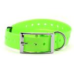 Ошейник пластиковый зеленый, 25 мм х 70 см