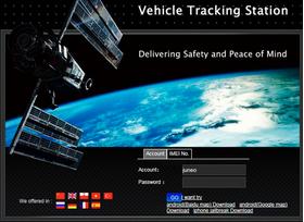 Platforma sekošanai datorā: www.tkstargps.net