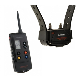 Apmācošā apkakle CANICOM 1500 NUM'AXES. Sistēma suņa kontrolei ar dārgi maksājošo profesionālo elektronisko kakla siksnu iespējām