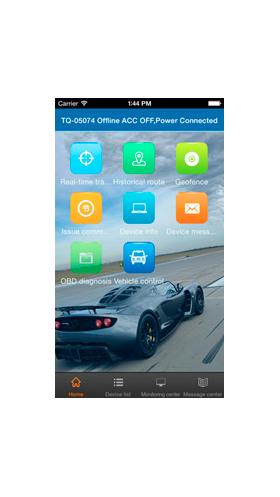 iOS: atrodiet TKSTARGPS Apple AppStore