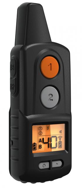 D-control 1000 Professional можно использовать для работы с одной или двумя собаками одновременно.