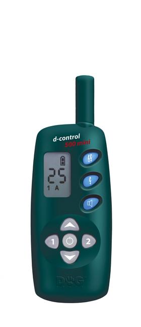 Dresēšanas apkakle d-control 500 mini – elektroniskā apmācošā apkakle, kas der ikdienas lietošanai.