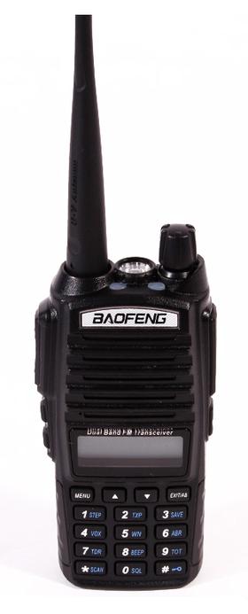 Radiostacija Baofeng UV-82 ir ideāla tūristam, medniekam, sportsmenam un makšķerniekam