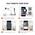 Kustības noteikšana / Regulējamas kontroles zonas / Trauksmes paziņojumi e-pastā / Paziņojumi viedtālrunī
