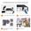 Новый готовый уличный комплект видеонаблюдения ZOSI с 4 камерами в комплекте