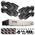 Система видео наблюдения ZOSI 8Ch HD 720P DVR с 8 x всепогодными 1280TVL 1.0MP камерами